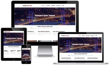 İstanbul Işıklı Tabela