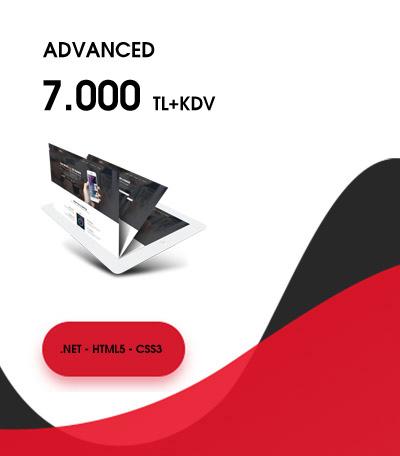 Advanced Web Tasarım Fiyatları