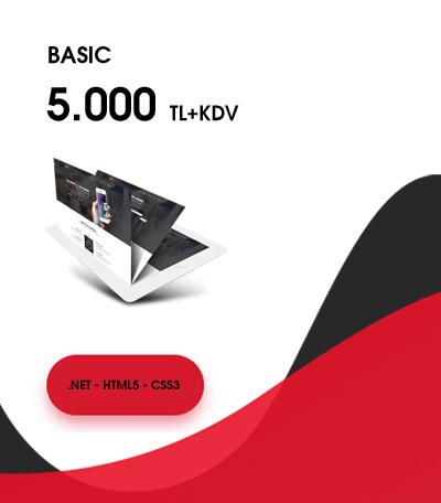 Basic Web Tasarım Fiyatları