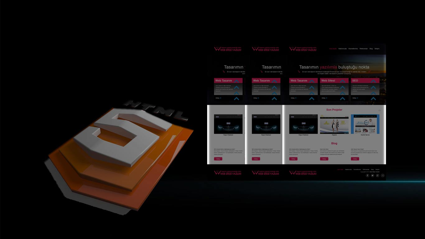 HTML5 Web Tasarım
